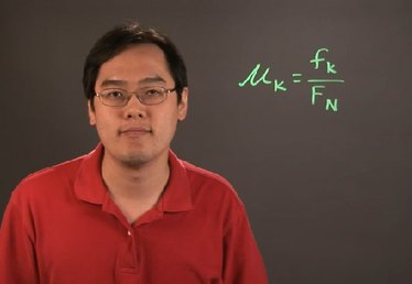 How to Calculate the Co-Efficient of Kinetic Friction