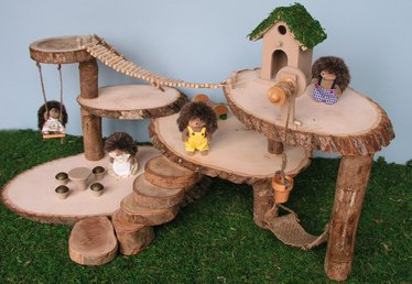 How to Make a Tree House Dollhouse