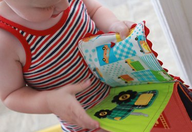 How to Make a Sensory-Stimulating Book That Your Baby Won't Want to Put Down