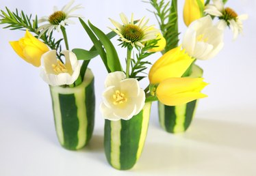Cucumbers Aren't Just for Salads–How to Turn an Ordinary Vegetable into a Charming Flower Vase