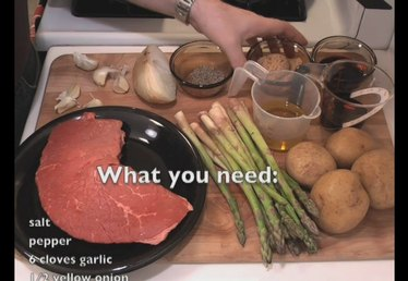 Ingredients for London Broil Recipe