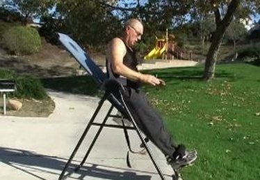 How to Do Intermittent Stretching with Inversion Table