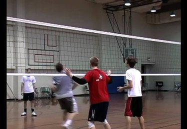 How to Block a Volleyball