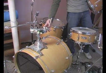 How to Mount Tom Toms on Bass Drum