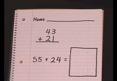 Two Digit Addition for First Grade Math