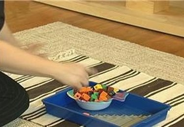 Montessori Counting with Unifix Cubes