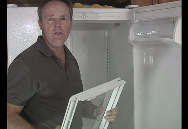 Reinstalling the Shelves After Cleaning Your Refrigerator