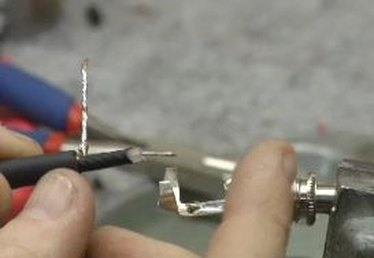 Soldering Connectors to Instrument Cable