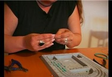 Stringing Beads on Earring Headpins