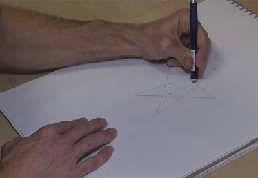 How to Draw a Five-Point Star