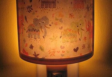 How to Make Night Light Lamp Shades