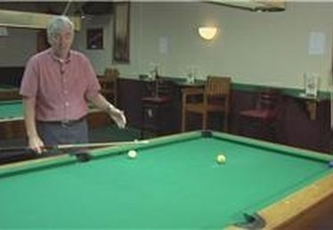 Billiards: Curving the Cue Ball