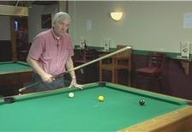 Billiards: Combination Shot
