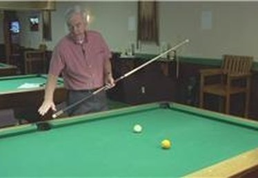 Billiards: Banking a Ball