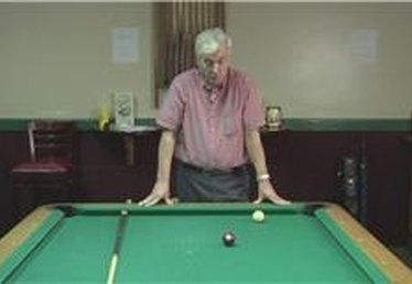Billiards: Jumping a Ball