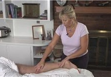 How to Give a Leg Massage