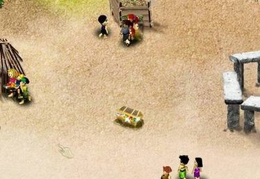 How to Find the Treasure on Virtual Villagers