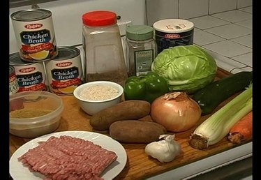 Ingredients & Recipe for Meatball (Albondigas) Soup