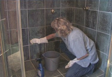 How to Clean Shower Stall Tile
