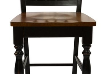 How to Paint Furniture to Look Antique Black