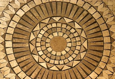 How to Replace Mosaic Tile on an Outdoor Firepit