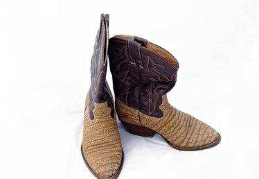 How Can I Make Felt Cowboy Boots to Fit Over My Shoes?