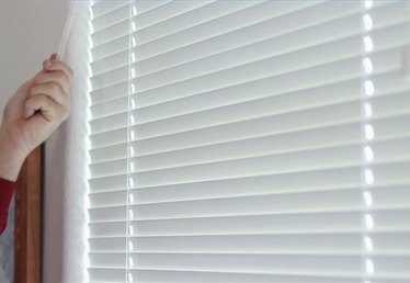 How to Clean Horizontal Blinds While They're Still Hanging Up