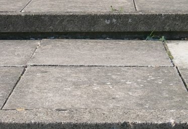 How to Repair Concrete Front Entry Steps
