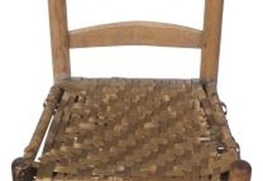 How to Replace a Woven Cane Seat in a Chair