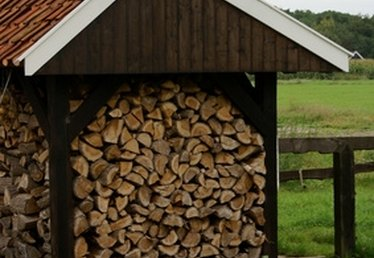 Do-It-Yourself Log Pole Barn