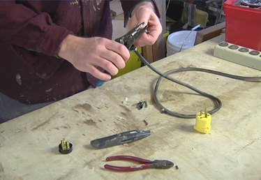 How to Put a New Plug on a Tool or Extension Cord