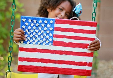Teach the Meaning of the American Flag with a Fourth of July Kids Craft