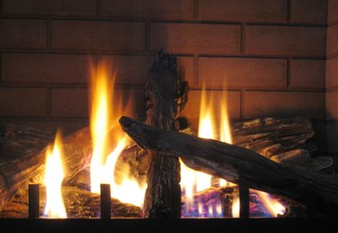 Can Fireplace Crystals Be Used in a Wood Burning Fireplace?