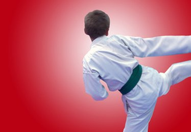 How to Fade a Karate Black Belt