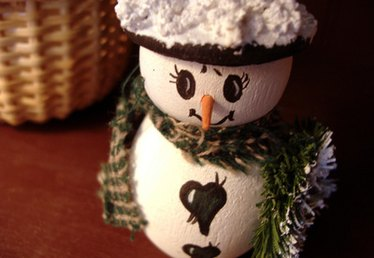 Instructions for Sock Snowman Crafts With Rice for Kids
