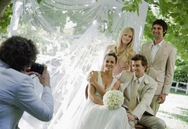 The Average Cost of a Photographer for a Wedding