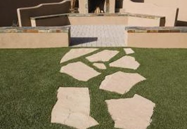 How to Repair Flagstone Walkways