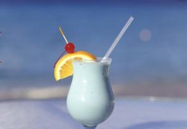 Mixed Drinks Using Blue Curacao & Coconut Rum