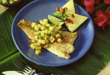 Dinner Ideas for Fish & Mango Salsa