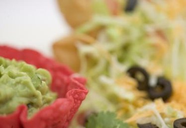 How to Cook Taco Salad Shells With Metal Mold