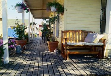Deck Floor Layout Ideas
