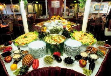 Golf Tourney Buffet Ideas