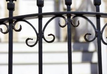 How to Make an Iron Fence Private