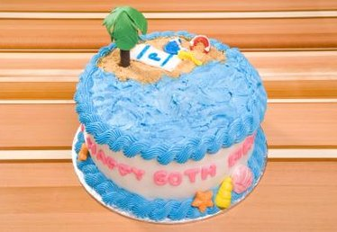 Cake Decorating Ideas for a 60 Year Old