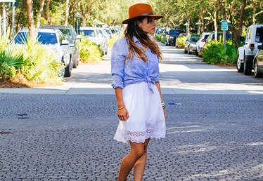3 Ways to Style a White Summer Dress