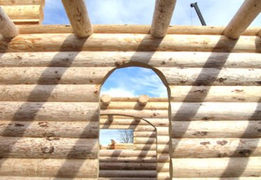 How to Whiten and Brighten a Log Home