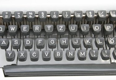 How to Troubleshoot an IBM Selectric Typewriter