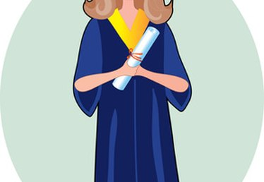 How to Draw a Graduation Gown