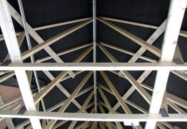 How to Attach a Roof Truss to the Walls