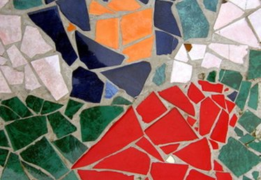 How to Lay Mosaic Tile on Concrete